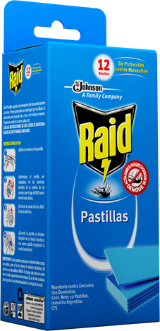 Raid Pastillas Repuesto x 12 DIGITAL
